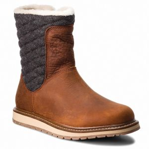 Snehule HELLY HANSEN - W Seraphina 112-58.747 Barley/Coffe Bean/Angora/Whiskey/Sperry Gum