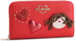 Veľká Peňaženka Dámska LOVE MOSCHINO - JC5600PP17LF0500 Rosso ef7e7da14d9