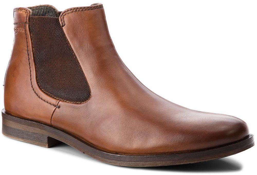 Kotníková obuv s elastickým prvkom BUGATTI - 311-17336-4100-6300 Cognac  značky bugatti - Lovely.sk 37f7124e03