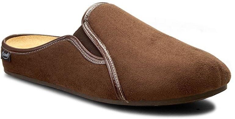 7cefcf824b7 Papuče SCHOLL - Felce F26412 1019 390 Dk Brown značky Scholl - Lovely.sk