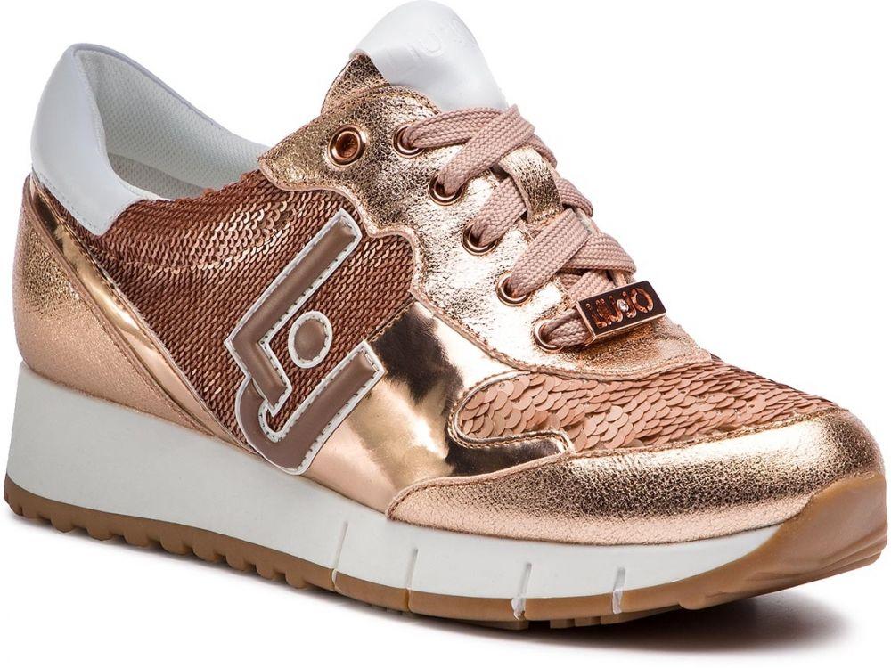 38a4596cfa Sneakersy LIU JO - Gigi 02 B19019 EX006 Rose Gold A7771 značky Liu ...