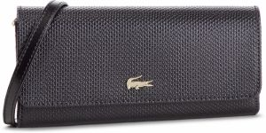 Kabelka LACOSTE - Mini Crossover Wallet NF1705CE Black 000