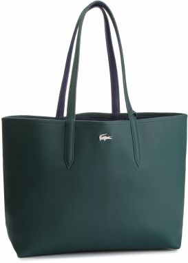 Kabelka LACOSTE - Shopping Bag NF2142AA Green Gables/Peacoat B51
