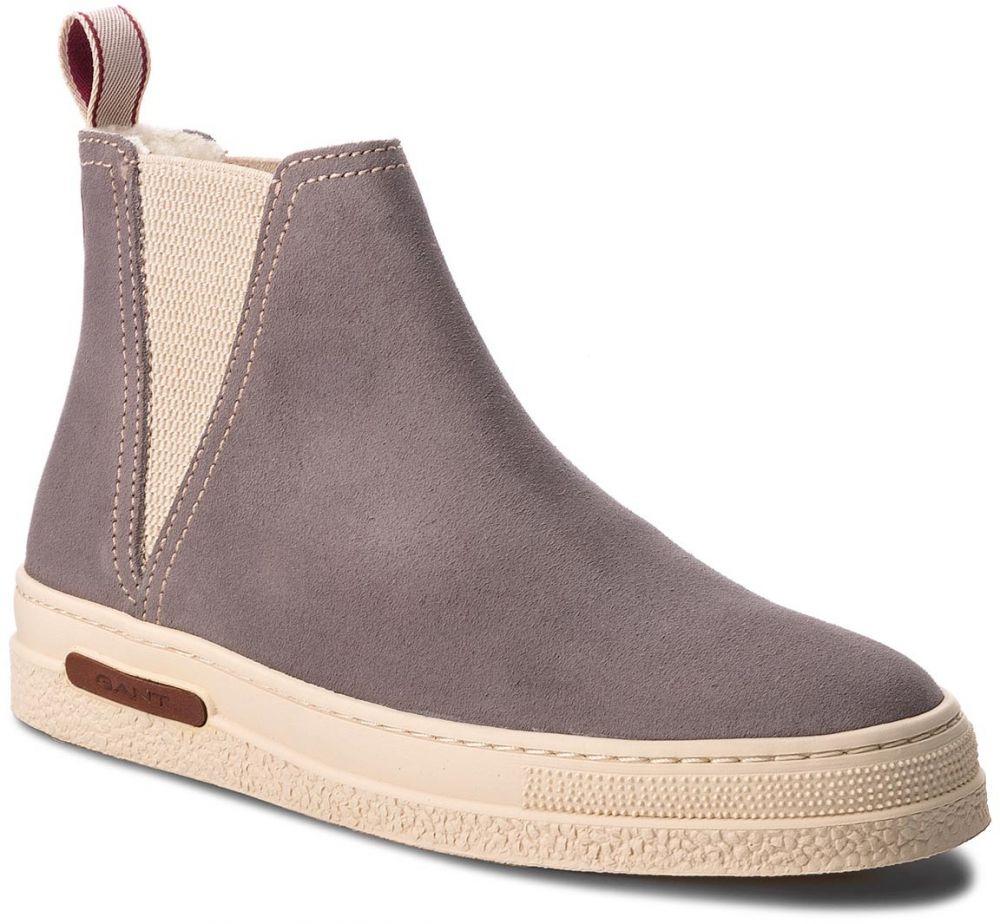 Kotníková obuv s elastickým prvkom GANT - Maria 17543823 Ash Grey G863  značky Gant - Lovely.sk 88fb2dcf979