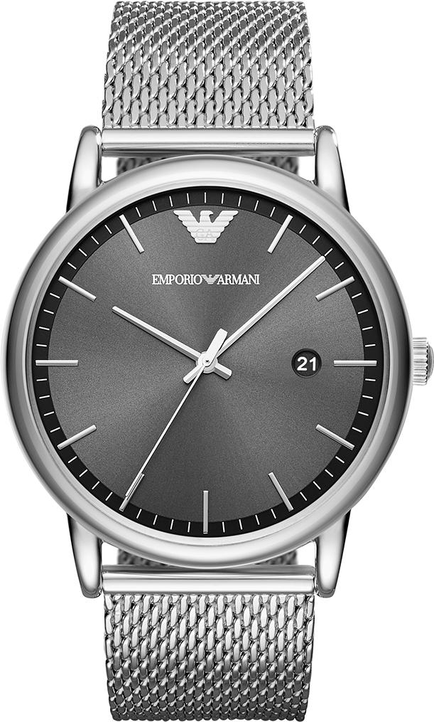 961df812e0 Hodinky EMPORIO ARMANI - Luigi AR11069 Silver Silver značky Emporio ...