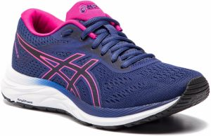 Topánky ASICS - Gel-Excite 6 1012A150 Indigo Blue/Pink Rave 400