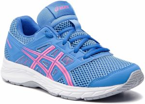 Topánky ASICS - Contend 5 Gs 1014A049 Blue Coast/Hot Pink 402