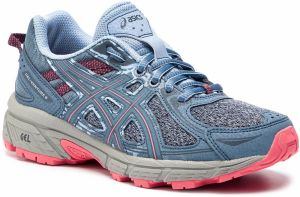 Topánky ASICS - Gel-Venture 6 1012A504 Steel Blue/Pink Cameo 400