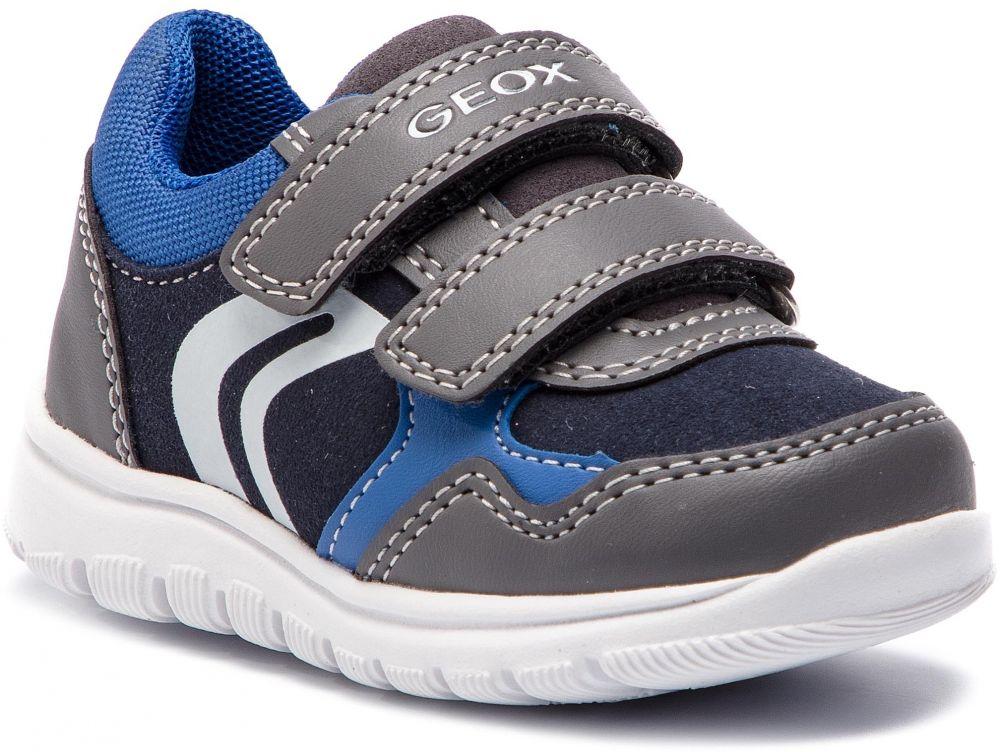 23f99c0abce56 Sneakersy GEOX - B Xunday B. D B841BD 054AU C0071 M Dk Grey/Royal ...