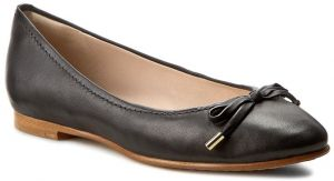 Baleríny CLARKS - Grace Lily 261230524 Black Leather