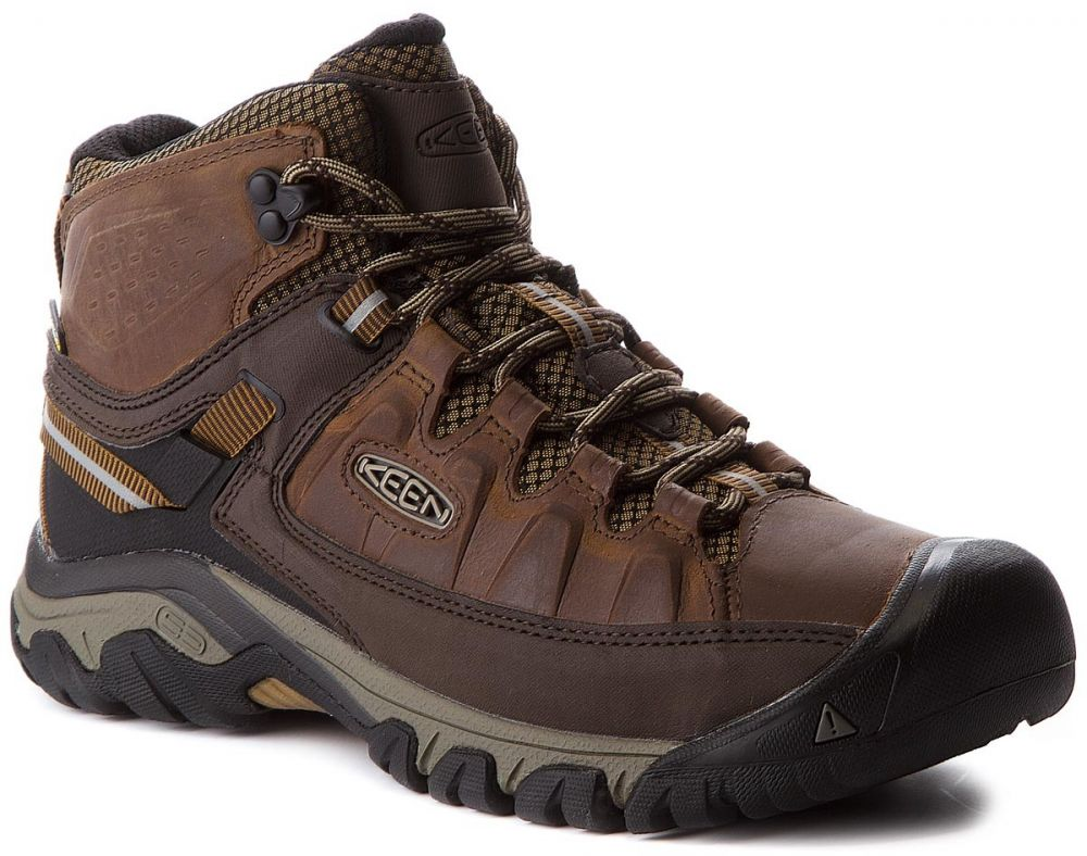 Trekingová obuv KEEN - Targhee III Mid Wp 1018570 Big Ben Golden Brown značky  Keen - Lovely.sk e3ed0e7a1e