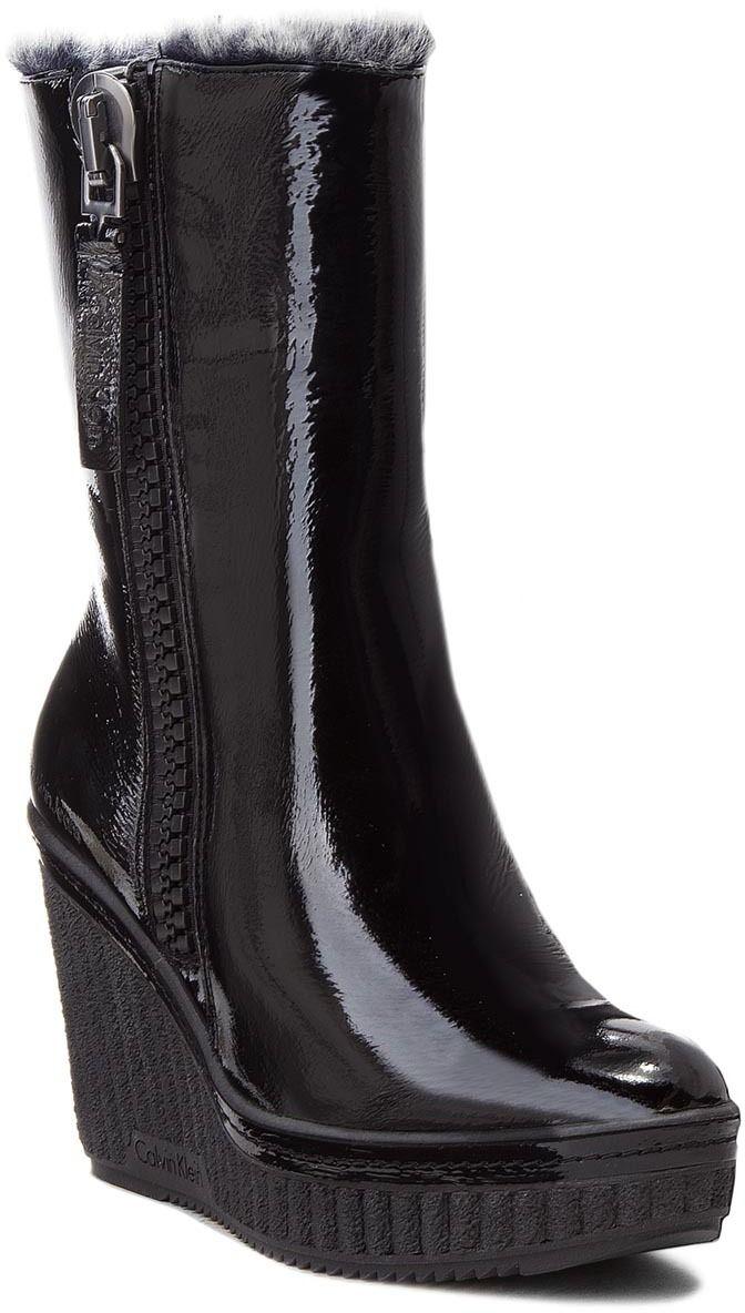 29a169fdf8 Členková obuv CALVIN KLEIN JEANS - Santa RE9713 Black značky Calvin Klein  Jeans - Lovely.sk