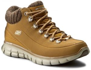 Trekingová obuv SKECHERS - Winter Nights 12122/WTN Wheat