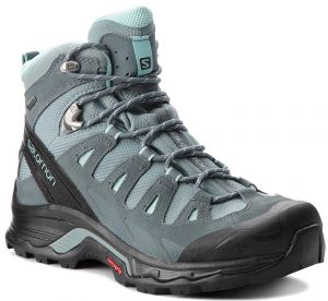 Trekingová obuv SALOMON - Quest Prime Gtx W GORE-TEX 404636 22 V0 Lead/Stormy Weather/Eggshell Blue
