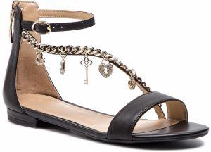 dcf917b576c7 Guess Dámske sandále G by GUESS Carmela T-Strap Sandals Black 37