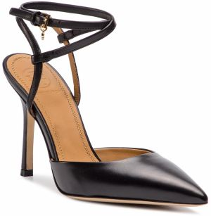 Sandále TORY BURCH - Penelope 100mm Ankle -Strap Pump 51945 Perfect Black 006