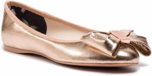 Baleriny TED BAKER - Imme 4 9-18210 Rose Gold