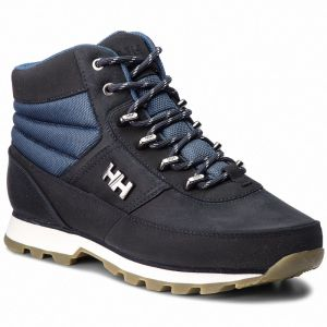 Trekingová obuv HELLY HANSEN - W Woodlands 108-07.598 Navy/Vintage Indigo/Off White