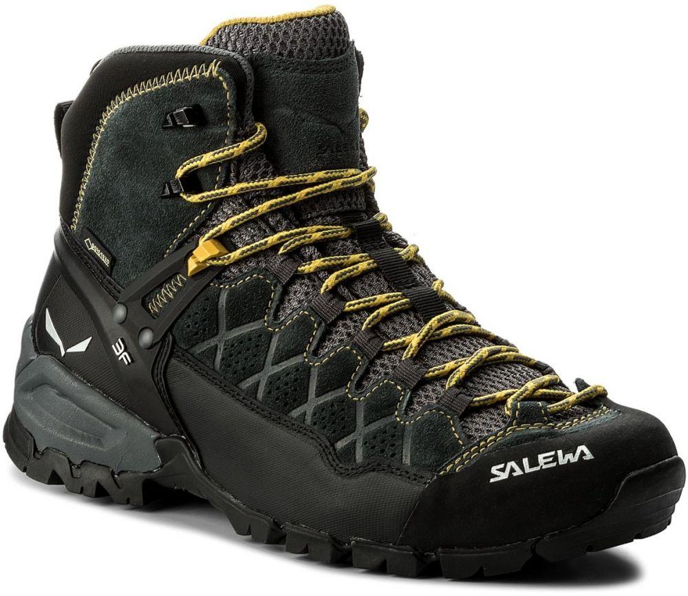 Trekingová obuv SALEWA - Alp Trainer Mid Gtx GORE-TEX 63432-0766 Carbon Ringlo  značky Salewa - Lovely.sk 42755b040c5