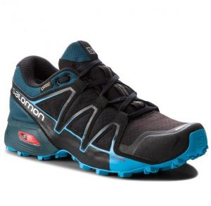 Topánky SALOMON - Speedcross Vario 2 Gtx GORE-TEX 404673 27 V0 Black/Reflecting Pond/Hawaiian Surf
