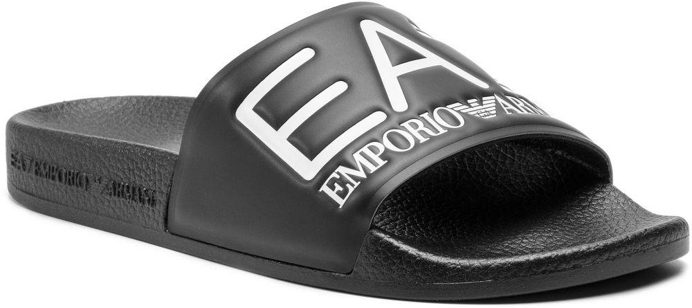 e000791388 Šľapky EA7 EMPORIO ARMANI - XCP001 XCC22 00002 Black značky EA7 ...