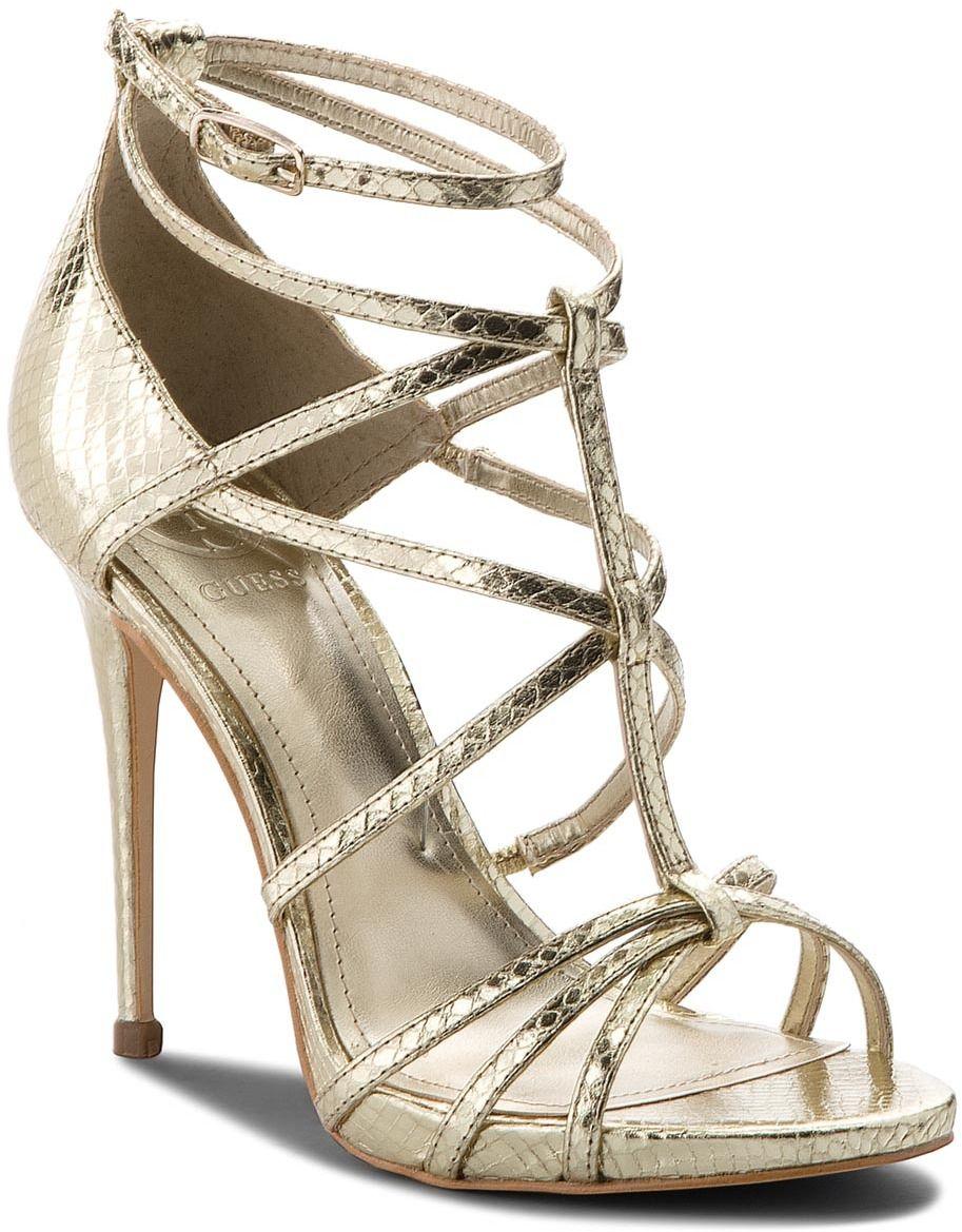 Sandále Pel03 Guess Sandále Guess Fltor4 Gold Guess Fltor4 Sandále Gold Fltor4 Pel03 WbeHIYDE29