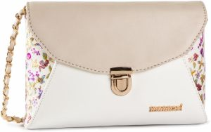 Kabelka MONNARI - BAG2080-023 White With Gold