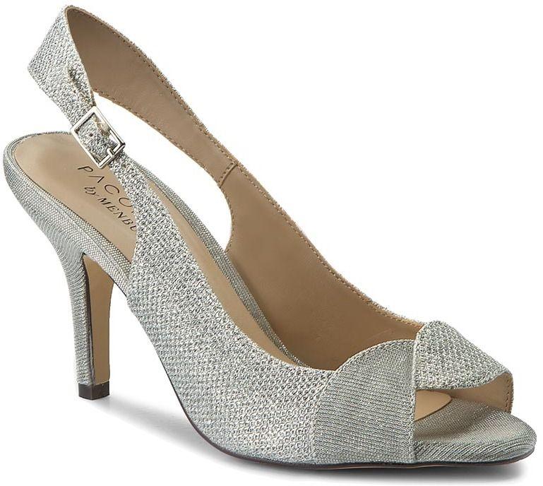 8bbd6969b7ba Sandále MENBUR - PACOMENA 07536 Silver 0009 značky Menbur - Lovely.sk