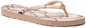 Žabky TORY BURCH - Printed Thin Flip Flop 38959 Sunset Blush Roccia 650