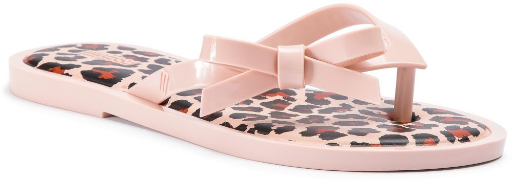 a4860eec3031 Žabky MELISSA - Flip Flop Animal Print 32651 Light Pink Black 53478 ...