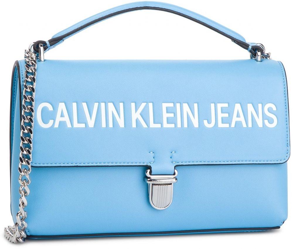 Kabelka CALVIN KLEIN JEANS - Sculpted Logo Ew Flap K60K605252 445 ... 62e4d5d4fd5