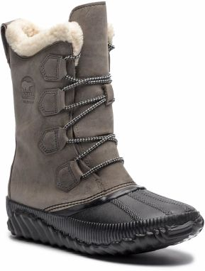 Snehule SOREL - Out N About Plus Tall NL3146 Quarry 052