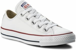 Tramky CONVERSE - Ct Ox 132173C White