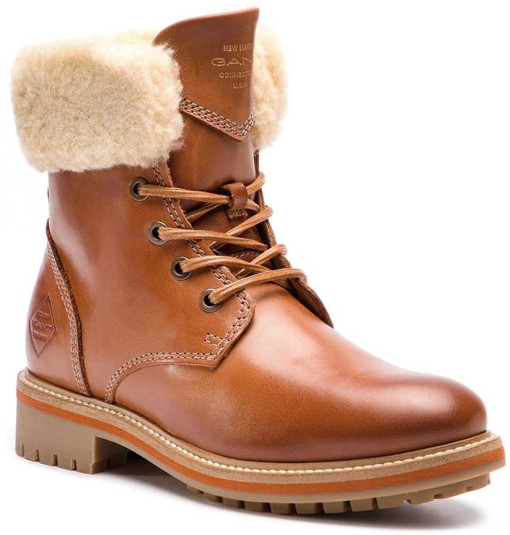 Outdoorová obuv GANT - Natalie 17541927 Cognac G45 značky Gant - Lovely.sk 1660b9c6ade