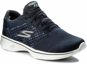 Topánky SKECHERS - Exceed 14146/NVW Navy/White