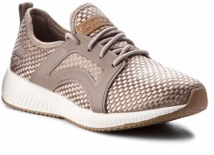 Topánky SKECHERS - BOBS SPORT Insta Cool 31365/TPE Taupe