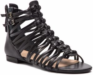 d31e229ddcda Guess Dámske sandále GUESS Factory Women`s Sara Logo Sandals Black ...