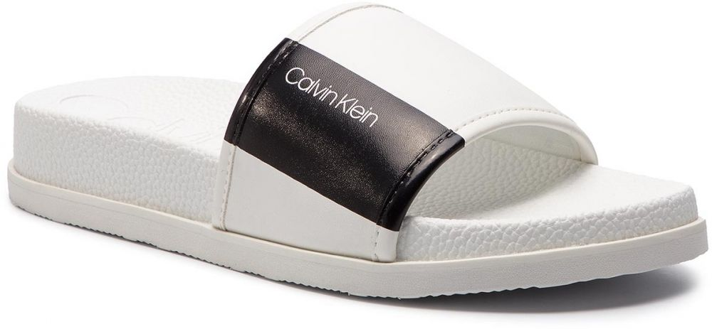 48dbdf2a7dd3 Šľapky CALVIN KLEIN - F0985 White Black značky Calvin Klein - Lovely.sk