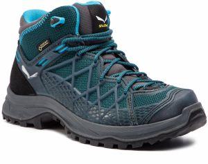 Trekingová obuv SALEWA - Wild Hiker Mid Gtx GORE-TEX 61341-0340 French Blue 7ca9579307