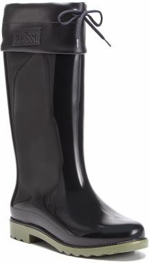 Gumáky MELISSA - Rain Boot Ad 32422 Black/Green 50489