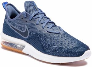 Topánky NIKE - Air Max Sequent 4 AO4485 400 Midnight Navy/Obsidian