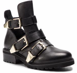 683dd15c21cf Členková obuv STEVE MADDEN - Lofter SM11000422-03001-017 Black Leather
