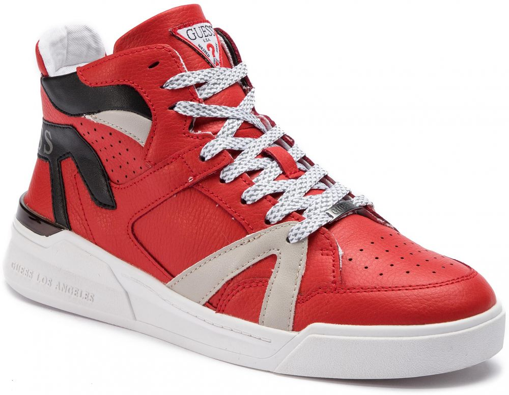 e9f41b6a71fd Sneakersy GUESS - Madison FM6MAD LEA12 RED značky Guess - Lovely.sk