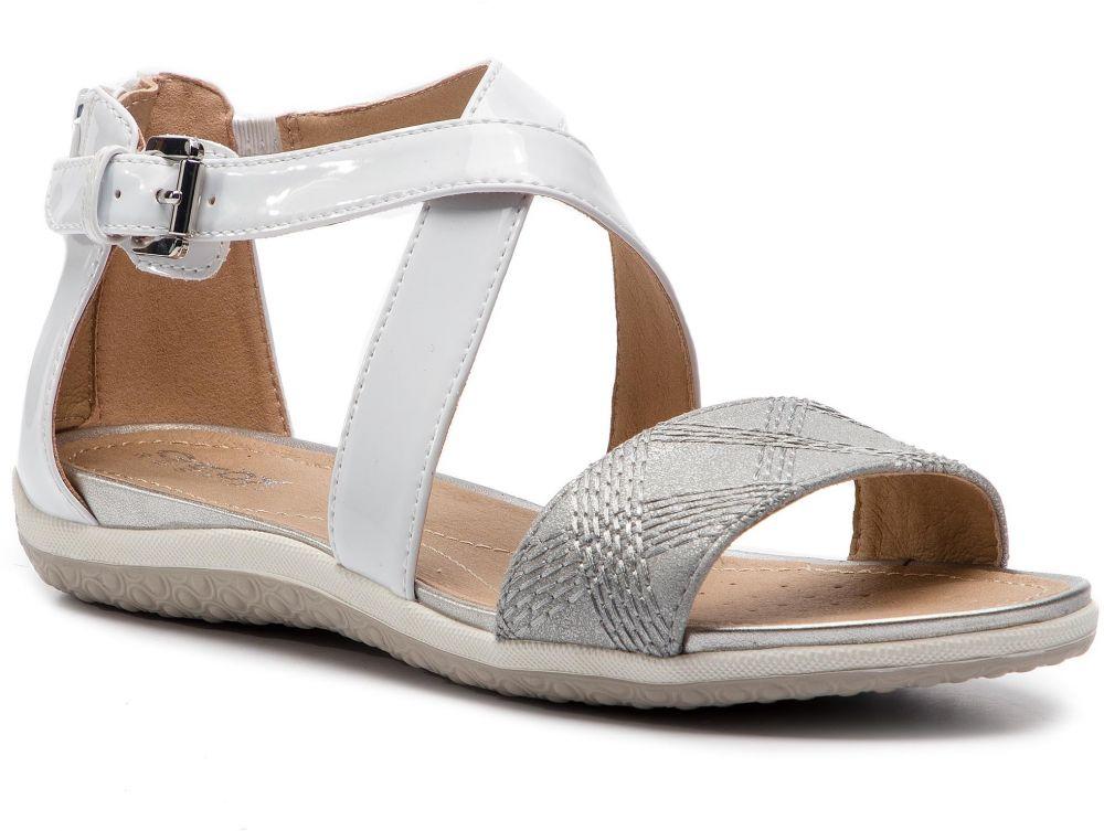 Sandále GEOX - D Sand. Vega F D92R6F 0HHBN C0007 White Silver značky ... f13ddcfee3