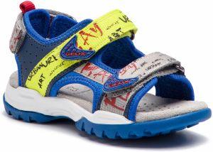 f0808fd243e2 Geox Chlapčenské svietiace topánky s hviezdami - farebné značky Geox ...