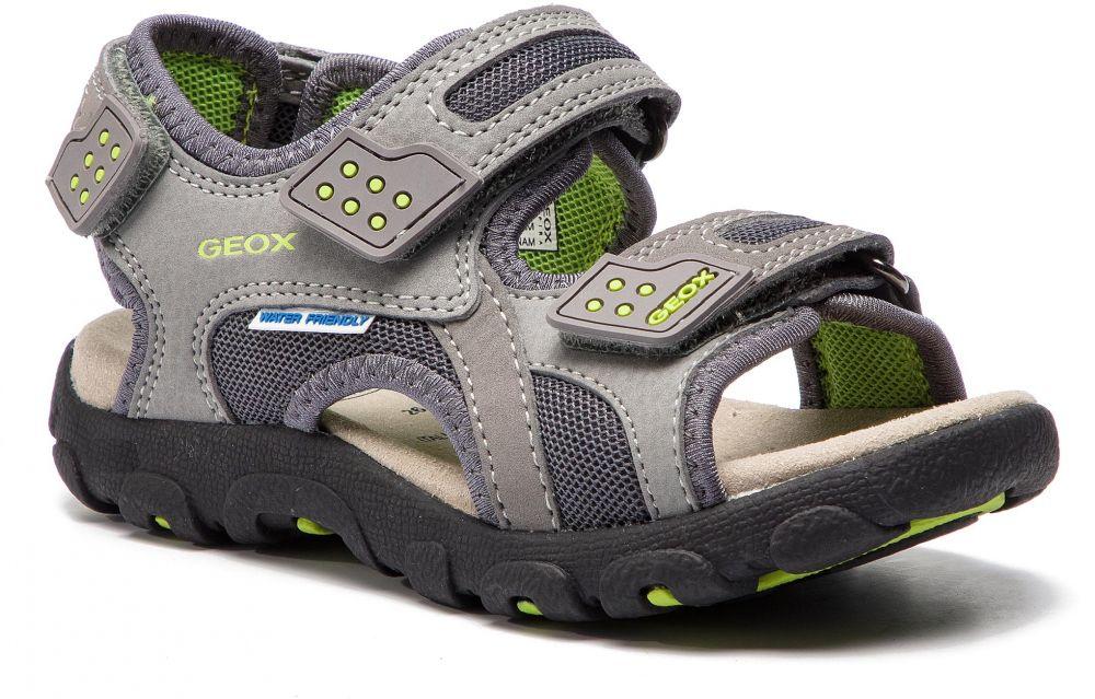 caae2db591d8 Sandále GEOX - J S.Strada B J9224B 014CE C0666 M Grey Lime značky ...