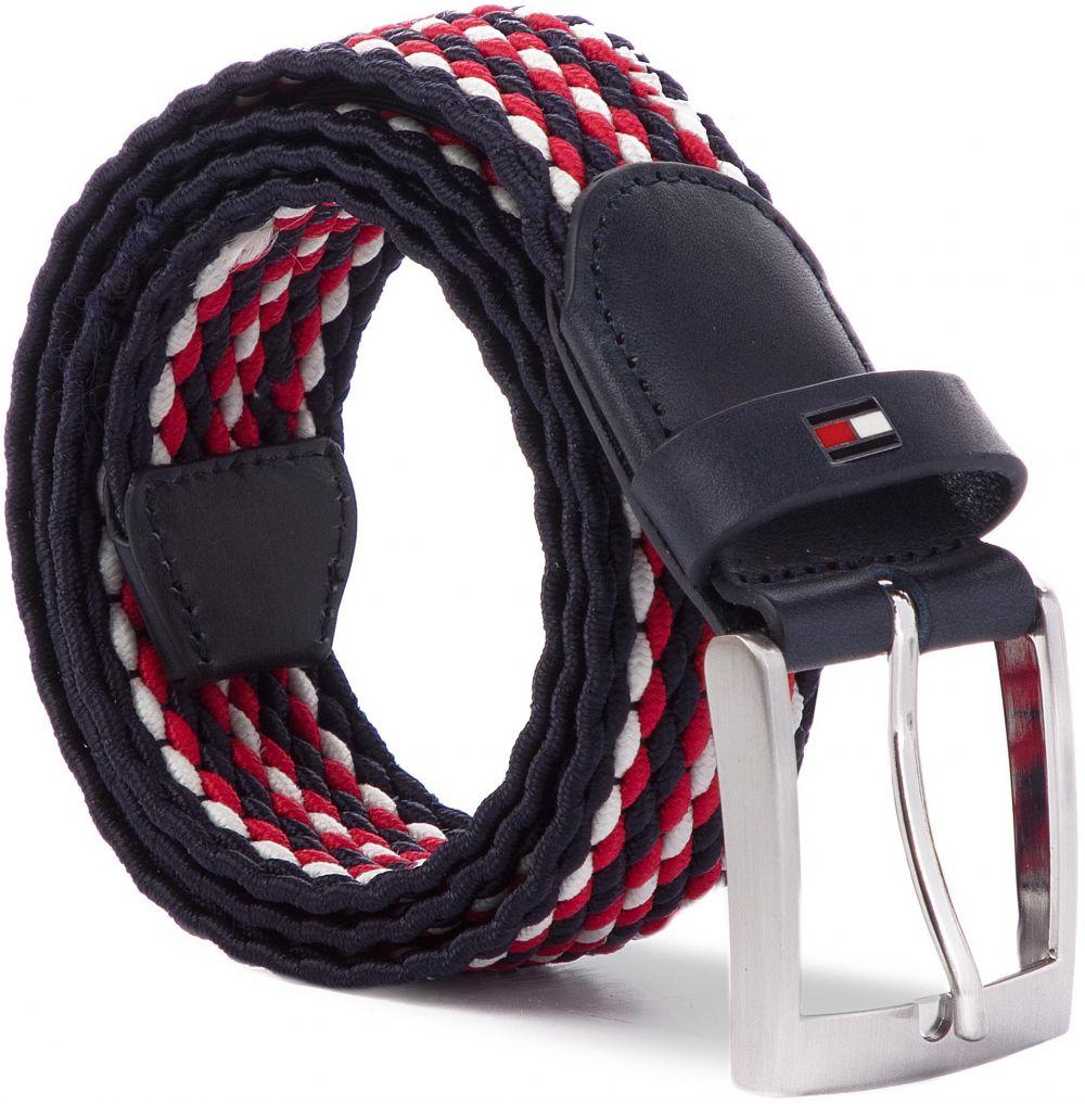 Opasok Pánsky TOMMY HILFIGER - Adan Stripe Elastic Belt 3.5 AM0AM04481 902  značky Tommy Hilfiger - Lovely.sk 87e2bbda425