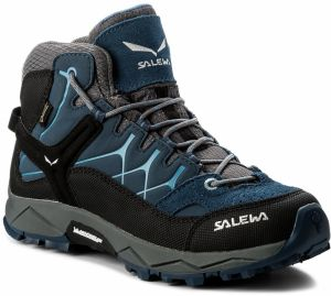 Trekingová obuv SALEWA - Alp Trainer Mid Gtx GORE-TEX 64006-0365 Dark Denim bb87c388db