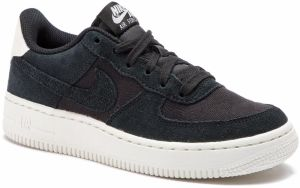 Topánky NIKE - Air Force 1 Suede (GS) AR0265 001 Black/Black/Sail