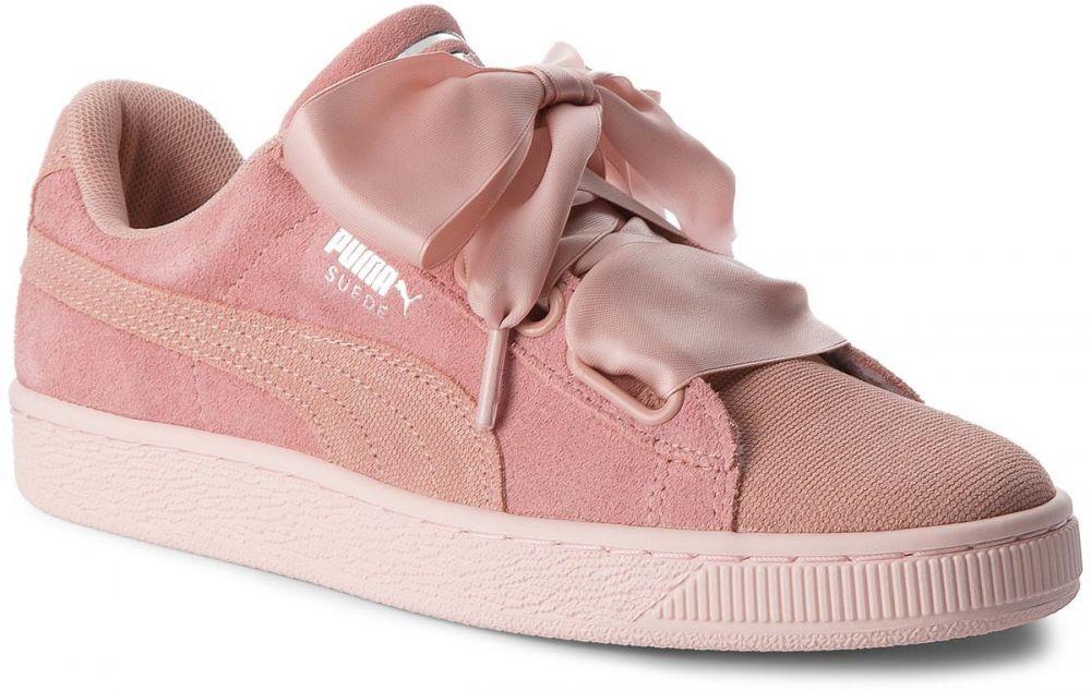 842a8814ca3c4 Sneakersy PUMA - Suede Heart Pebble Wn's 365210 01 Peach Beige/Pearl značky  Puma - Lovely.sk